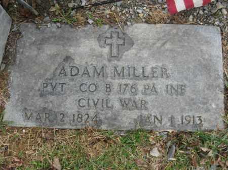 MILLER (CW), PVT.ADAM - Lehigh County, Pennsylvania   PVT.ADAM MILLER (CW) - Pennsylvania Gravestone Photos