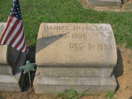 MILLER, DANIEL  H. - Lehigh County, Pennsylvania | DANIEL  H. MILLER - Pennsylvania Gravestone Photos
