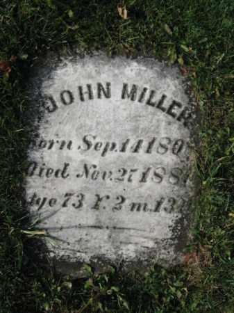 MILLER, JOHN - Lehigh County, Pennsylvania | JOHN MILLER - Pennsylvania Gravestone Photos