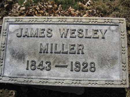 MILLER, JAMES WESLEY - Lehigh County, Pennsylvania | JAMES WESLEY MILLER - Pennsylvania Gravestone Photos
