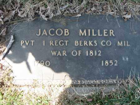 MILLER, JACOB - Lehigh County, Pennsylvania   JACOB MILLER - Pennsylvania Gravestone Photos