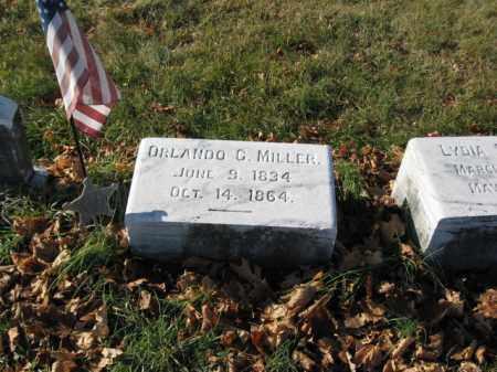 MILLER, PVT. ORLANDO G. - Lehigh County, Pennsylvania   PVT. ORLANDO G. MILLER - Pennsylvania Gravestone Photos