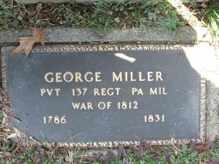 MILLER, PVT.GEORGE - Lehigh County, Pennsylvania | PVT.GEORGE MILLER - Pennsylvania Gravestone Photos