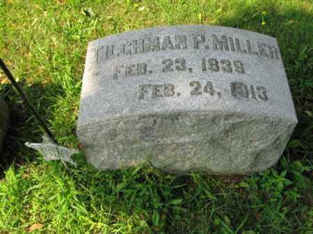 MILLER, SGT. TILGHMAN P. - Lehigh County, Pennsylvania   SGT. TILGHMAN P. MILLER - Pennsylvania Gravestone Photos