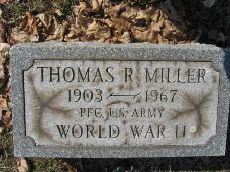 MILLER, THOMAS R. - Lehigh County, Pennsylvania | THOMAS R. MILLER - Pennsylvania Gravestone Photos