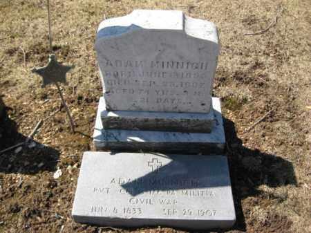 MINNICH   (CW), ADAM - Lehigh County, Pennsylvania | ADAM MINNICH   (CW) - Pennsylvania Gravestone Photos