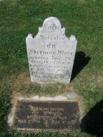 MOHR, HERMAN - Lehigh County, Pennsylvania | HERMAN MOHR - Pennsylvania Gravestone Photos