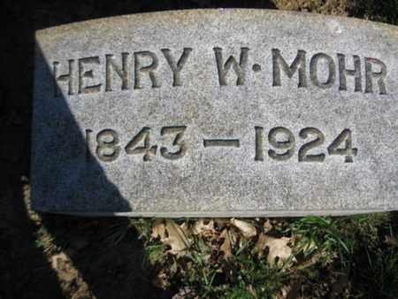 MOHR, HENRY W. - Lehigh County, Pennsylvania | HENRY W. MOHR - Pennsylvania Gravestone Photos