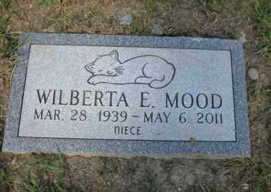 MOOD, WILBERTA E. - Lehigh County, Pennsylvania | WILBERTA E. MOOD - Pennsylvania Gravestone Photos