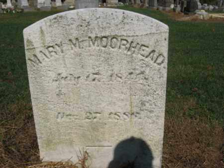 MOORHEAD, MARY M. - Lehigh County, Pennsylvania | MARY M. MOORHEAD - Pennsylvania Gravestone Photos