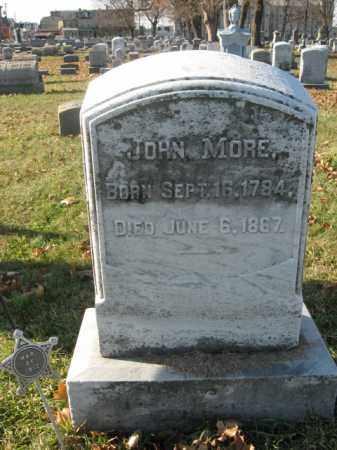 MORE, JOHN - Lehigh County, Pennsylvania   JOHN MORE - Pennsylvania Gravestone Photos