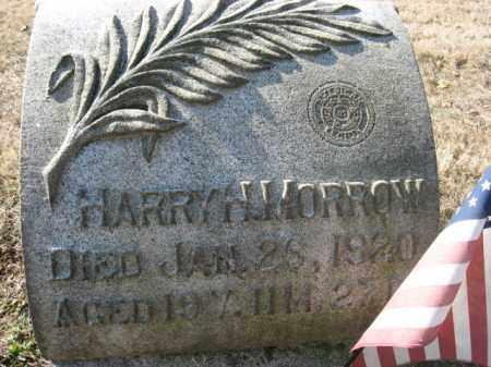 MORROW, HARRY  H. - Lehigh County, Pennsylvania   HARRY  H. MORROW - Pennsylvania Gravestone Photos