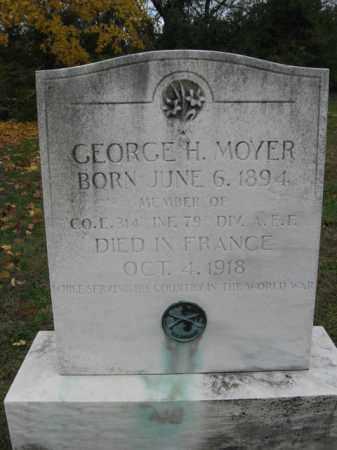MOYER, GEORGE H. - Lehigh County, Pennsylvania | GEORGE H. MOYER - Pennsylvania Gravestone Photos