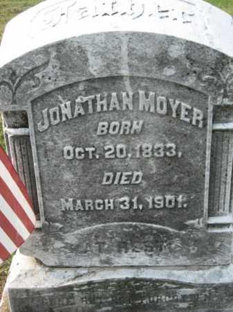 MOYER, JONATHAN - Lehigh County, Pennsylvania   JONATHAN MOYER - Pennsylvania Gravestone Photos