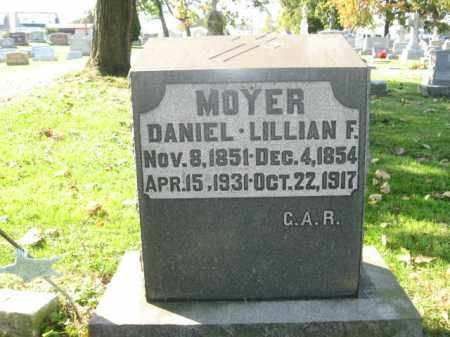 MOYER, LILLIAN F. - Lehigh County, Pennsylvania | LILLIAN F. MOYER - Pennsylvania Gravestone Photos