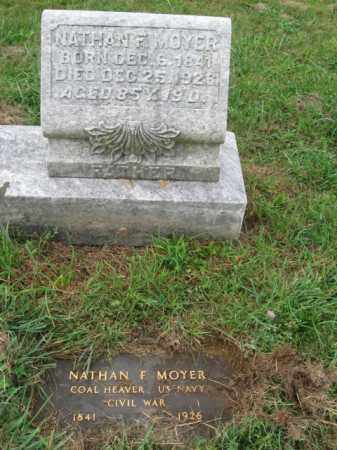 MOYER, NATHAN F. - Lehigh County, Pennsylvania   NATHAN F. MOYER - Pennsylvania Gravestone Photos