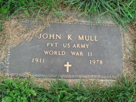 MULL, JOHN K. - Lehigh County, Pennsylvania   JOHN K. MULL - Pennsylvania Gravestone Photos