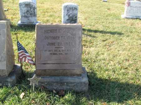 MULL, SGT. HENRY K. - Lehigh County, Pennsylvania | SGT. HENRY K. MULL - Pennsylvania Gravestone Photos