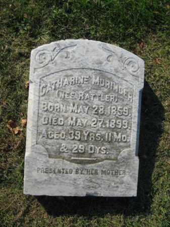 MURINGER, CATHERINE - Lehigh County, Pennsylvania | CATHERINE MURINGER - Pennsylvania Gravestone Photos