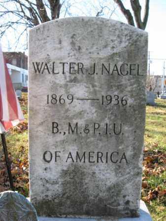 NAGEL, WALTER J. - Lehigh County, Pennsylvania   WALTER J. NAGEL - Pennsylvania Gravestone Photos