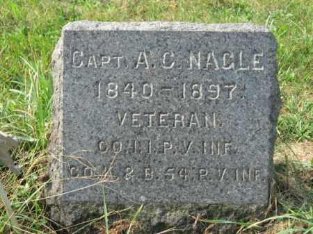 NAGLE, CAPT. A.C. - Lehigh County, Pennsylvania   CAPT. A.C. NAGLE - Pennsylvania Gravestone Photos