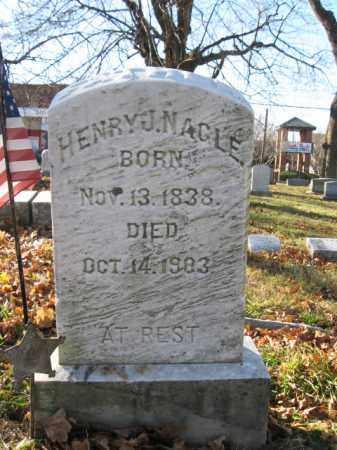 NAGLE, PVT.HENRY J. - Lehigh County, Pennsylvania | PVT.HENRY J. NAGLE - Pennsylvania Gravestone Photos