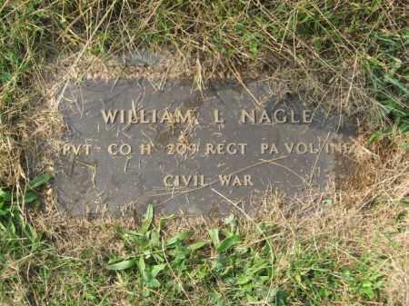 NAGLE, WILLIAM L. - Lehigh County, Pennsylvania   WILLIAM L. NAGLE - Pennsylvania Gravestone Photos
