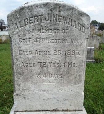 NEWHARD (CW), ALBERT J. - Lehigh County, Pennsylvania | ALBERT J. NEWHARD (CW) - Pennsylvania Gravestone Photos