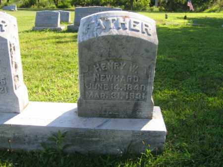 NEWHARD, HENRY W. - Lehigh County, Pennsylvania | HENRY W. NEWHARD - Pennsylvania Gravestone Photos