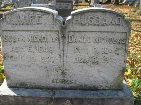 NICHOLAS, SUSAN - Lehigh County, Pennsylvania   SUSAN NICHOLAS - Pennsylvania Gravestone Photos