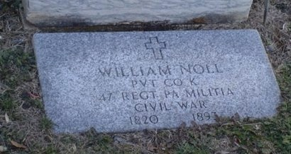 NOLL (CW), WILLIAM - Lehigh County, Pennsylvania | WILLIAM NOLL (CW) - Pennsylvania Gravestone Photos