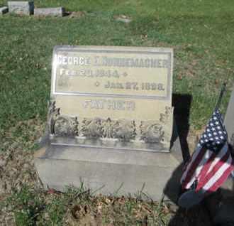 NONNEMACHER (CW), GEORGE E. - Lehigh County, Pennsylvania | GEORGE E. NONNEMACHER (CW) - Pennsylvania Gravestone Photos