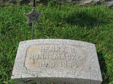 NONNEMACHER, HENRY S. - Lehigh County, Pennsylvania   HENRY S. NONNEMACHER - Pennsylvania Gravestone Photos