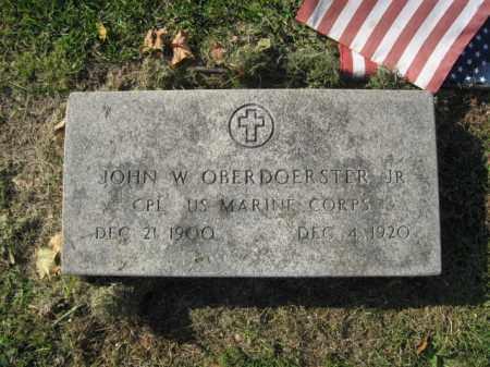 OBERDOERSTER JR., JOHN W. - Lehigh County, Pennsylvania   JOHN W. OBERDOERSTER JR. - Pennsylvania Gravestone Photos