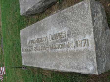 OLIVER, JOHN HENRY - Lehigh County, Pennsylvania   JOHN HENRY OLIVER - Pennsylvania Gravestone Photos