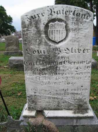 OLIVER, LOUIS M. - Lehigh County, Pennsylvania   LOUIS M. OLIVER - Pennsylvania Gravestone Photos