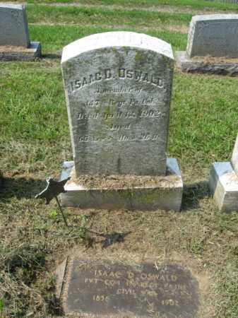 OSWALD (OSWALT), ISAAC D. - Lehigh County, Pennsylvania | ISAAC D. OSWALD (OSWALT) - Pennsylvania Gravestone Photos