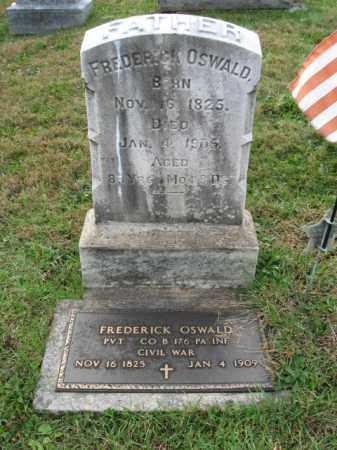 OSWALD, PVT. FREDERICK - Lehigh County, Pennsylvania | PVT. FREDERICK OSWALD - Pennsylvania Gravestone Photos