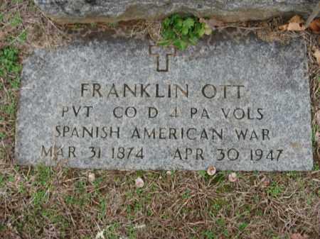 OTT, FRANKLIN - Lehigh County, Pennsylvania | FRANKLIN OTT - Pennsylvania Gravestone Photos
