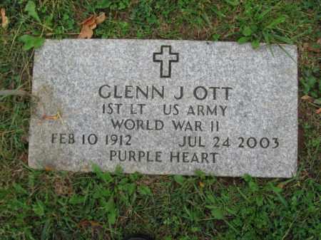 OTT, GLENN J. - Lehigh County, Pennsylvania | GLENN J. OTT - Pennsylvania Gravestone Photos