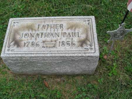PAUL, JONATHAN - Lehigh County, Pennsylvania | JONATHAN PAUL - Pennsylvania Gravestone Photos