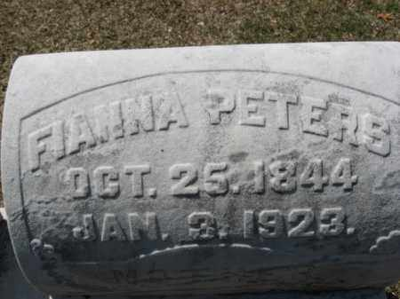 PETERS, FIANNA - Lehigh County, Pennsylvania | FIANNA PETERS - Pennsylvania Gravestone Photos