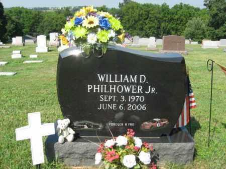 PHILHOWER,JR., WILLIAM D. - Lehigh County, Pennsylvania   WILLIAM D. PHILHOWER,JR. - Pennsylvania Gravestone Photos