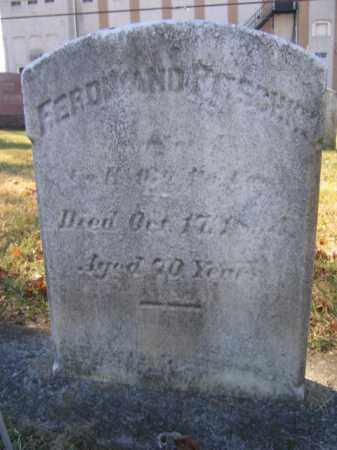 PITSCHKY, PVT. FERDINAND - Lehigh County, Pennsylvania   PVT. FERDINAND PITSCHKY - Pennsylvania Gravestone Photos