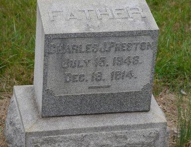 PRESTON (CW), CHARLES J. - Lehigh County, Pennsylvania   CHARLES J. PRESTON (CW) - Pennsylvania Gravestone Photos
