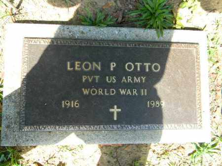 OTTO (WW II), LEON P. - Lehigh County, Pennsylvania   LEON P. OTTO (WW II) - Pennsylvania Gravestone Photos