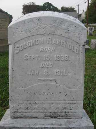 RABENOLD, SOLOMON - Lehigh County, Pennsylvania   SOLOMON RABENOLD - Pennsylvania Gravestone Photos