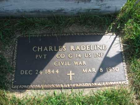 RADELINE, CHARLES - Lehigh County, Pennsylvania | CHARLES RADELINE - Pennsylvania Gravestone Photos