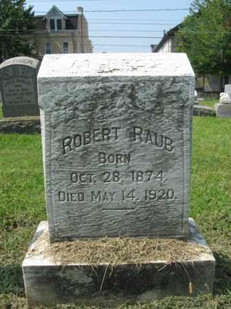 RAUB, ROBERT - Lehigh County, Pennsylvania   ROBERT RAUB - Pennsylvania Gravestone Photos