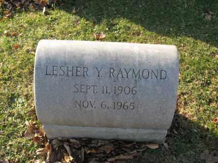 RAYMOND, LESHER Y. - Lehigh County, Pennsylvania | LESHER Y. RAYMOND - Pennsylvania Gravestone Photos